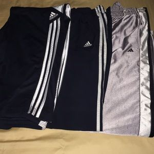 Adidas set of 3 active wear pants